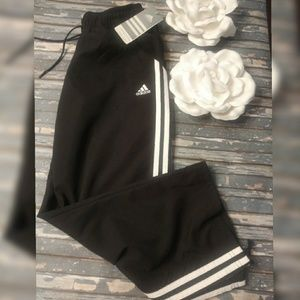 Adidas Women's Poly Capri Black/White